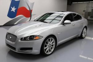 2013 Jaguar XF SUPERCHARGED SUNROOF NAV REAR CAM