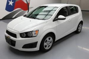 2015 Chevrolet Sonic HATCHBACK AUTO SUMMIT WHITE