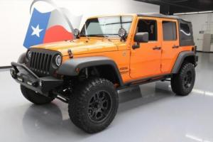 2012 Jeep Wrangler UNLTD SPORT 4X4 6SPEED LIFTED