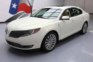 2013 Lincoln MKS ELITE DUAL SUNROOF NAV REAR CAM Photo