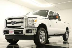 2016 Ford F-250 HD 4X4 Lariat Diesel Sunroof GPS White Crew 4WD