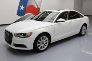 2013 Audi A6 2.0T PREMIUM PLUS AWD SUNROOF NAV