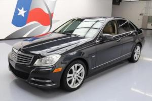 2012 Mercedes-Benz C-Class C250 LUX PREM SUNROOF HTD SEATS