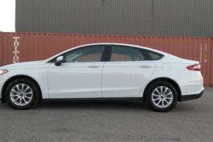 2016 Ford Fusion S with alloy wheels