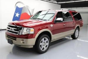 2014 Ford Expedition KING RANCH EL SUNROOF NAV 20'S
