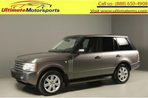 2007 Land Rover Range Rover 2007 HSE AWD NAV SUNROOF LEATHER HEATSEAT RCAM