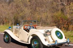 1952 MG T-Series TD Roadster Photo