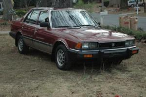 1983 Honda Accord LE