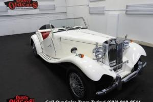 1980 MG T-Series Replica Runs Drives Excel 1.3LI4 4 spd manual