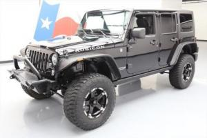 2014 Jeep Wrangler UNLTD RUBICON 4X4 HARD TOP NAV