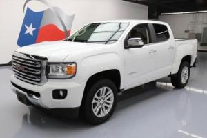 2015 GMC Canyon SLT CREW HTD LEATHER NAV REAR CAM