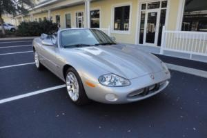 2002 Jaguar XKR XKR 4.0L SUPERCHARGED CONVERTIBLE
