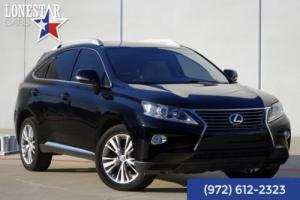 2013 Lexus RX Navigation Comfort Package