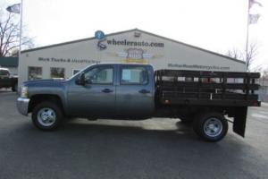 2008 Chevrolet C/K Pickup 3500  C3500HD CREW CAB 2WD DUALLY STAKEBED