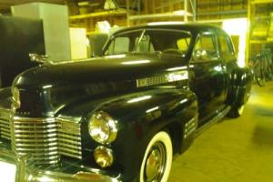 1941 Cadillac 62 Series 4-Door 62 Series 4-Door Sedan