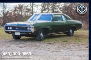 1969 Chevrolet Biscayne #s Match 396 Upgraded to a 460 V8!