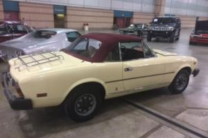 1980 Fiat Other 2 door convertable