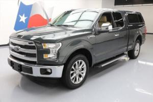 2015 Ford F-150 LARIAT SUPERCAB 5.0 SUNROOF NAV