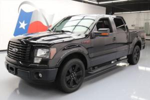2012 Ford F-150 FX2 SPORT CREW 5.0 LEATHER 20'S