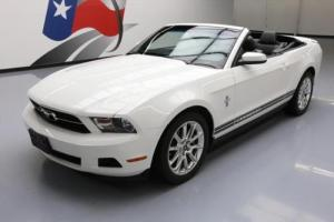 2011 Ford Mustang V6 PREMIUM CONVERTIBLE LEATHER
