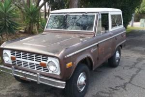 1974 Ford Bronco Sport