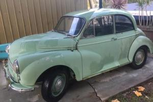 1958 morris coupe Gold Coast not chev or hotrod