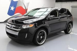 2013 Ford Edge LTD VISTA ROOF NAV HTD LEATHER 22'S