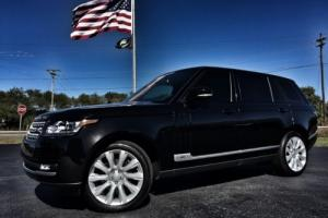 2015 Land Rover Range Rover LWB SUPERCHARGED 1 OWNER