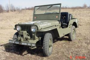 1947 Willys CJ2A 2 door