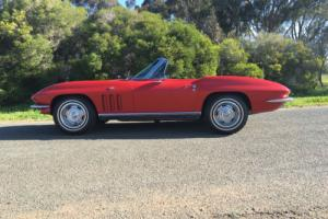1966 CORVETTE ROADSTER CONVERTIBLE CHEV SUIT MG COBRA CAPRI ASTON MARTIN BUYER