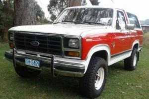 Ford Bronco V8 351 Manual 1982 Excellent Condition