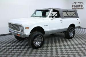 1972 Chevrolet Blazer RARE FULL CONVERTIBLE 4X4 AUTO AC PS PB