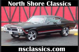 1968 Chevrolet Chevelle SS396-CONCOURSE SILVER SPINNER AWARD-FRAME OFF RES