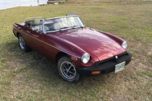 1978 MG MGB mg mgb Photo