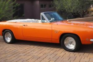 1968 Plymouth Barracuda Barracuda convertible