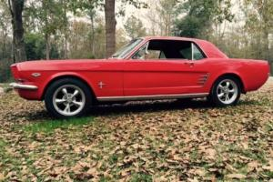 1966 Ford Mustang Nice Daily Driver Original V8-3 Speed NO RESERVE