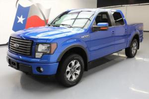 2012 Ford F-150 FX4 CREW 5.0 4X4 LEATHER REAR CAM
