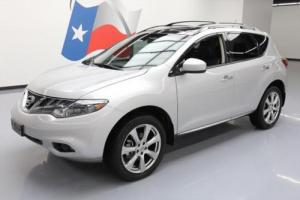 2013 Nissan Murano LE PLATINUM HTD LEATHER NAV 20'S