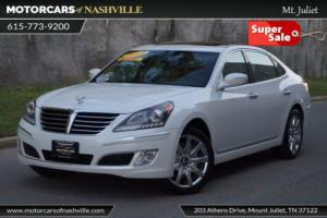 2013 Hyundai Equus 4dr Sedan Signature