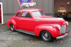 1940 Chevrolet Coupe - Oregon Showroom