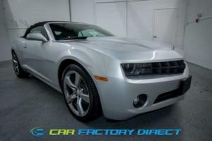 2012 Chevrolet Camaro 2LT Soft Top Convertible Camera Parking sensors Le