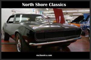 1968 Chevrolet Camaro -BLACK ON BLACK- RS Rally Sport 454-FRESH RESTO-SO