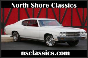 1970 Chevrolet Chevelle ONE OWNER - ORIGINAL CALI CAR- SEE VIDEO