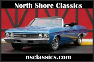 1969 Chevrolet Chevelle -NUMBERS MATCHING BIG BLOCK 396 W/ FACTORY 4SPEED!