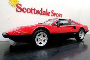 1985 Ferrari 308 ONLY 32K MILES, ROSSO CORSA/NERO w RED PIPING, FRE