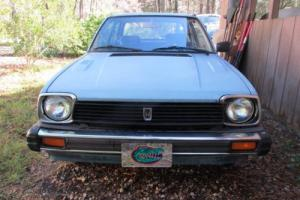 1981 Honda Civic 3D Hatchback