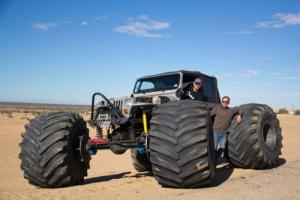 1989 Jeep Wrangler Also comes with 66x44 inch monster tires