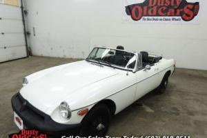 1976 MG MGB Runs Drives Body Inter VGood 1.8L 4 Speed