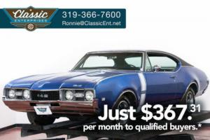 1968 Oldsmobile 442 Cutlass Numbers Matching Big Block V8