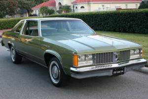 1979 Oldsmobile Ninety-Eight COUPE - TWO OWNER - 30K MI